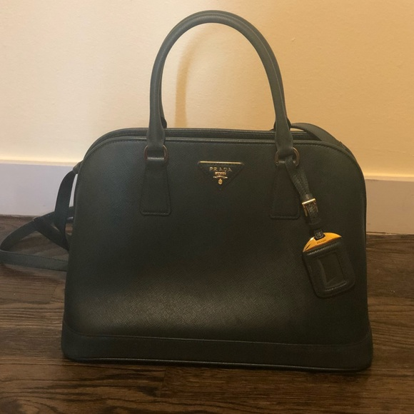 b7fb15ed4cff Prada Bags | Original Saffiano Dome Shaped Handbag | Poshmark